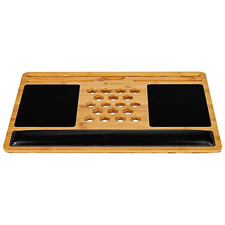 "LapGear BamBoard Lap Desk, 15""H x 22""W x 0.7""D, Natural Bamboo"