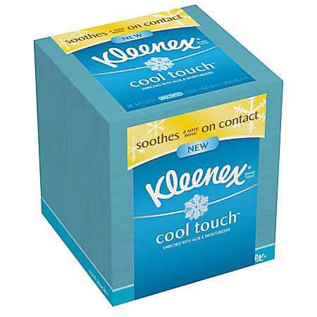 Kleenex® Cool Touch™ Facial Tissue, 50 Tissues Per Box