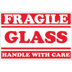 Tape Logic Preprinted Labels DL1058 Fragile