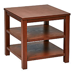 Ave Six Merge End Table Square