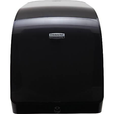 "Kimberly-Clark® M-Series Paper Towel Dispenser, 9 3/8"" x 13 1/16"" x 17 7/8"", Black"