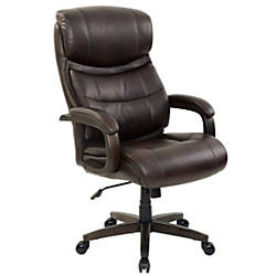 Realspace Westdale Big Tall Bonded Leather