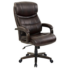 Realspace Westdale Bonded Leather Big Tall