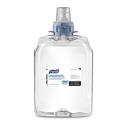 Purell® Professional HEALTHY SOAP® Antimicrobial Foam FMX-20 Refill, Fresh Scent, 67.63 Oz, Clear