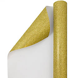 JAM Paper Wrapping Paper Glitter 12