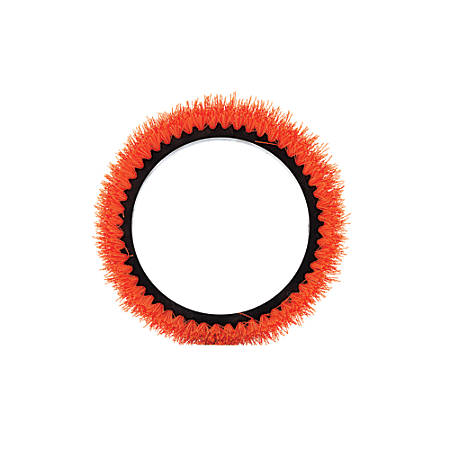 "Oreck Commercial Orbiter Scrub Brush, 13"", Orange"