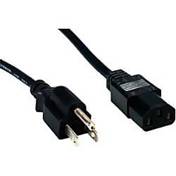 Comprehensive Standard PC Power Cord NEMA
