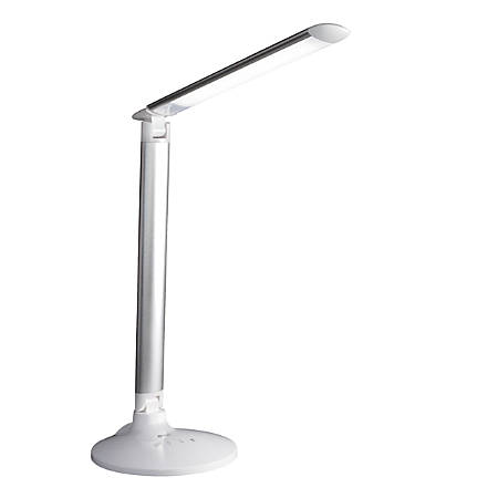 "OttLite® Command LED Desk Lamp With Voice Assistant, 29""H, White"