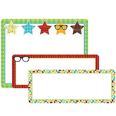 Carson-Dellosa Hipster Labels, Multicolor, Pack Of 26