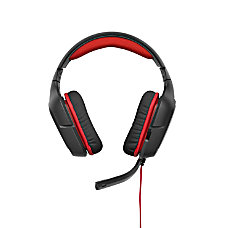 Logitech G230 PC Gaming Headset BlackRed