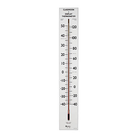 Learning Resources® Giant Classroom Thermometer, Pre-K - Grade 12