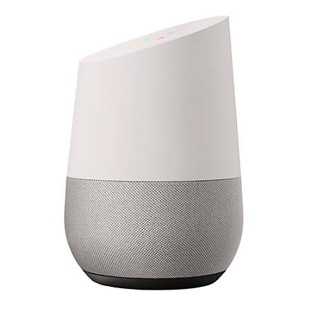Google™ Home Smart Speaker, White/Slate