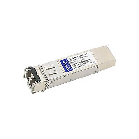 AddOn Enterasys 10GB-USR-SFPP Compatible TAA Compliant 10GBase-USR SFP+ Transceiver (MMF, 850nm, 150m, LC, DOM)