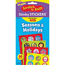 Trend Seasons Holidays Stinky Stickers Pack