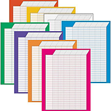 Trend Vertical Incentive Charts Assorted Colors
