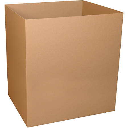 """Office Depot® Brand Gaylord Bottom Boxes, 48""""H x 40""""W x 48""""D, Kraft, Pack Of 5"""