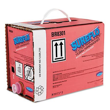 Bobrick SureFlo® Lotion Soap Cartridge, 405.77 Oz, Pink
