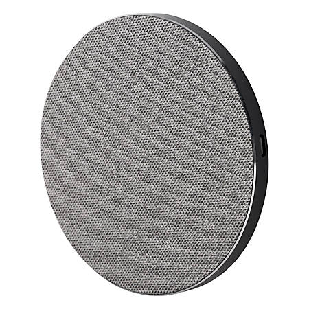 Ativa™ 10W Wireless Qi Charger, Gray, 45872