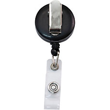 Advantus Snap Clip Retractable ID Reel