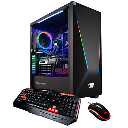 iBUYPOWER TracePro 117i Pro Gaming Desktop PC, Intel® Core™ i7, 16GB Memory, 1TB Solid State Drive, Windows® 10