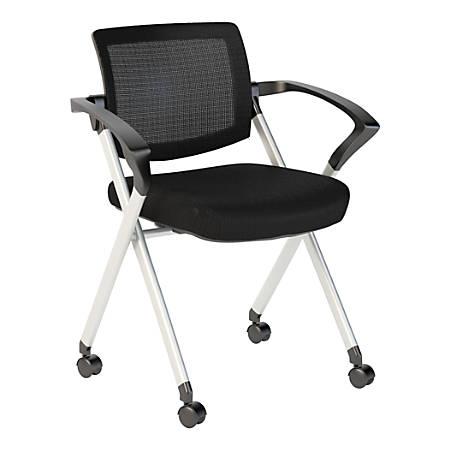 Groovy Bush Business Furniture Corporate Mesh Back Folding Office Chair Black Premium Installation Item 6786403 Inzonedesignstudio Interior Chair Design Inzonedesignstudiocom