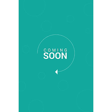 Custom Floor Decal Template, FDV Coming Soon Circle