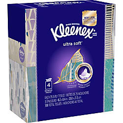 Kleenex Ultra Soft Facial Tissue 3