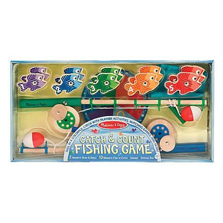 Melissa & Doug Catch & Count Fishing Game, Pre-K - Grade 2