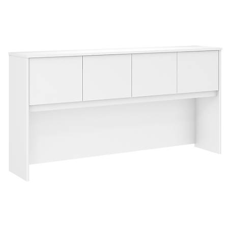 "Bush Business Furniture Studio C 72""W Hutch, White, Standard Delivery"