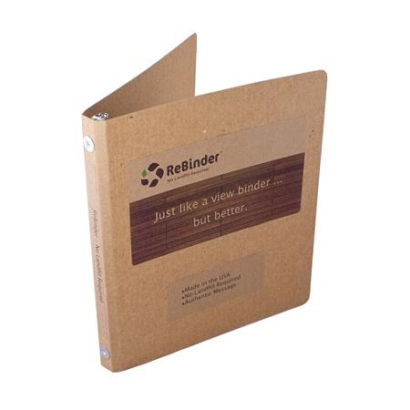 rebinder original cardboard 3 ring binders 12 rings 100percent