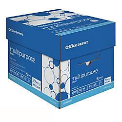 Office Depot Brand Multipurpose Paper Letter