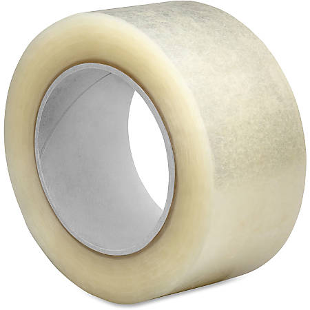 "Sparco 2.5mil Hot-melt Sealing Tape - 2"" Width x 55 yd Length - Long Lasting, Easy Unwind - 36 / Carton - Clear"
