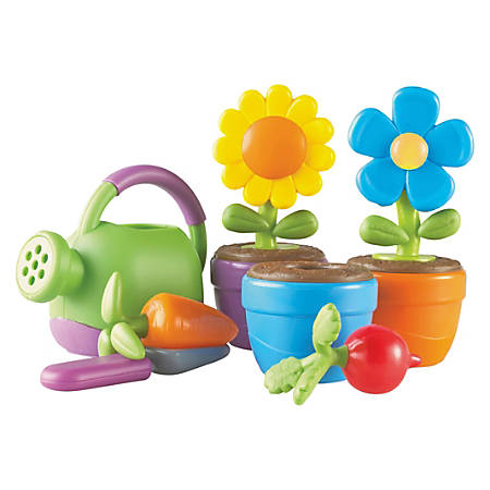 Learning Resources - New Sprouts Grow It! Play Set - Plastic, Rubberized, Polyvinyl Chloride (PVC)