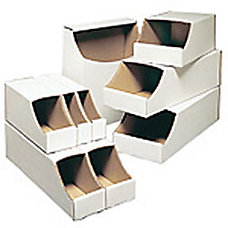 Office Depot Brand White Stackable Parts