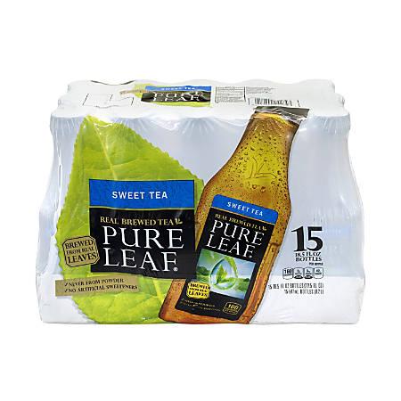 Pure Leaf Sweet Iced Tea, 18.5 Oz, Pack Of 15 Bottles
