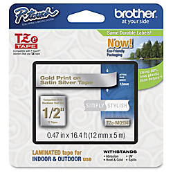 Brother PTouch 12 Laminated TZe Tape