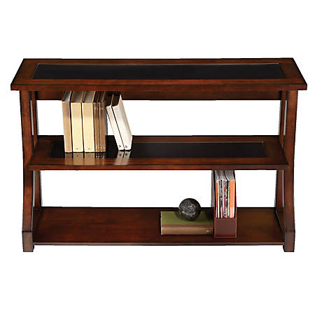 Realspace Coastal Ridge 3 Shelf Bookcase