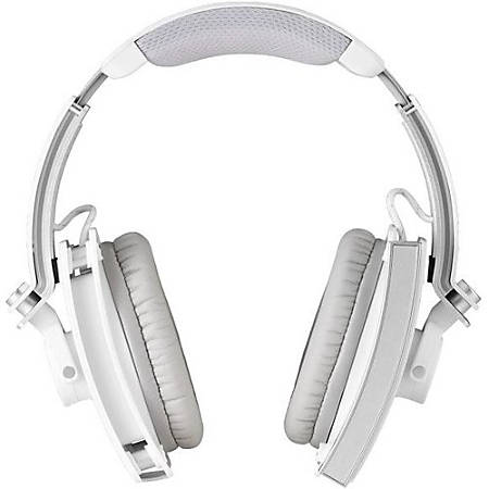 Tt eSPORTS Level 10 M Headset - Stereo - Mini USB, Mini-phone - Wired - 32 Ohm - 10 Hz - 22 kHz - Over-the-head - Binaural - Circumaural - 9.84 ft Cable - Noise Cancelling, Omni-directional Microphone - Iron White