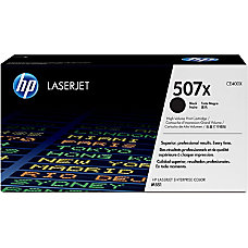 HP 507X Black Original Toner Cartridge
