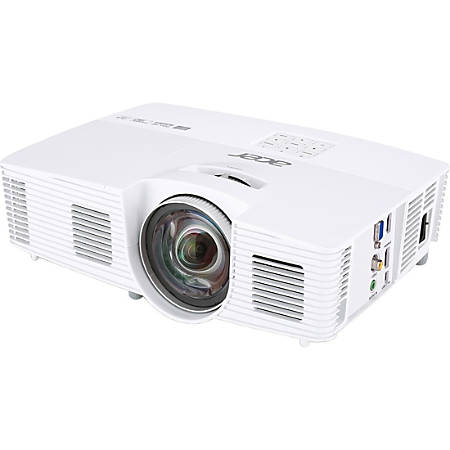 Acer H6517ST 3D Ready DLP Projector - 16:9 - White