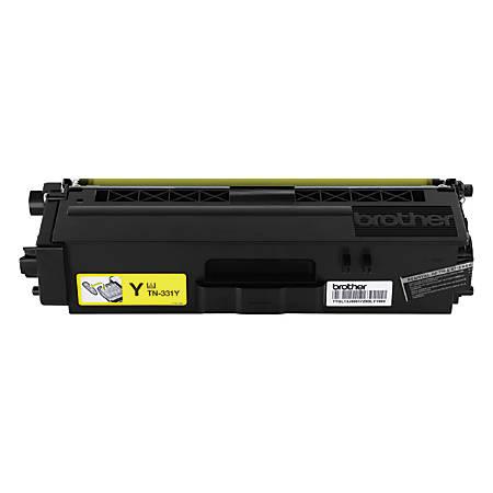 Brother® TN-331Y Yellow Toner Cartridge