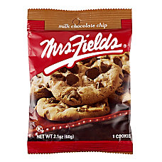Mrs Fields Milk Chocolate Chip Cookie