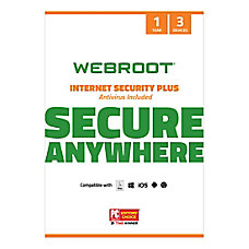 Webroot Internet Security Plus With Antivirus