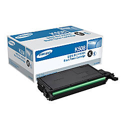 Samsung CLT K508S Black Toner Cartridge
