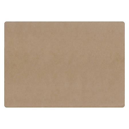 "Hoffmaster Disposable Paper Placemats, Earth Wise Kraft, 10"" x 14"", Carton Of 1,000"