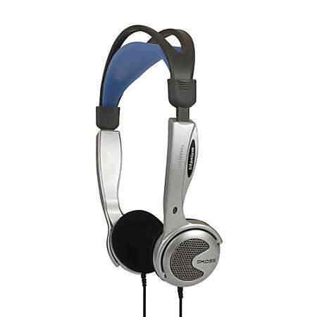 Koss KTXPRO1 Portable On-Ear Headphones, Black