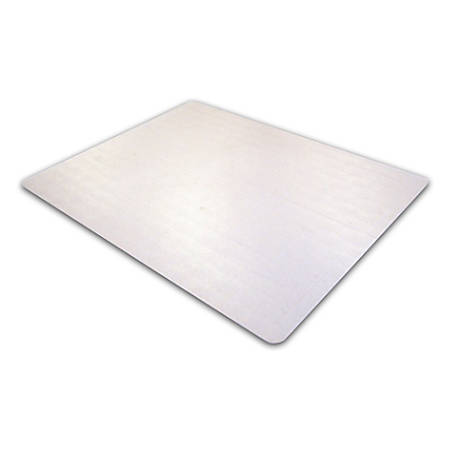 "Floortex Phthalate-Free Chair Mat, Low Pile, 48"" x 60"", Clear"