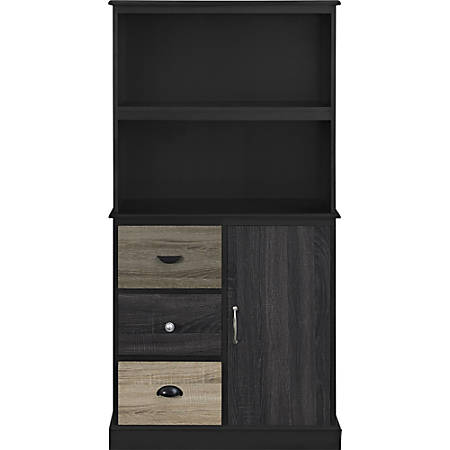 Ameriwood™ Home Blackburn 2-Shelf Storage Bookcase, Multicolor