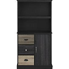 Ameriwood Home Blackburn 2 Shelf Storage