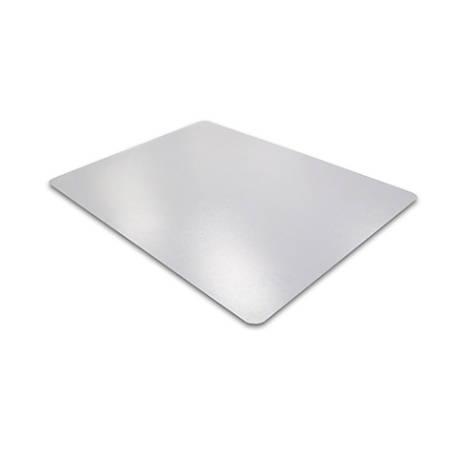 """Floortex Phthalate-Free Chair Mat, Hard Floor, 48"""" x 60"""", Clear"""